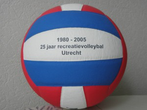25 jaar recreatievolleybal speelgebied Utrecht