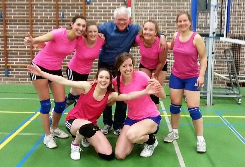 VV Boni 2 kampioen dames D seizoen 2015-2016