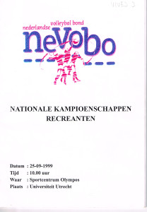 uitslag NRK 1999