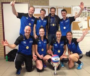 SV Bourgondië 3 Mixed kampioen NRK 2015
