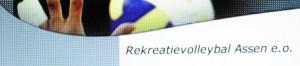 Rekreatievolleybal competitie Assen e.o.