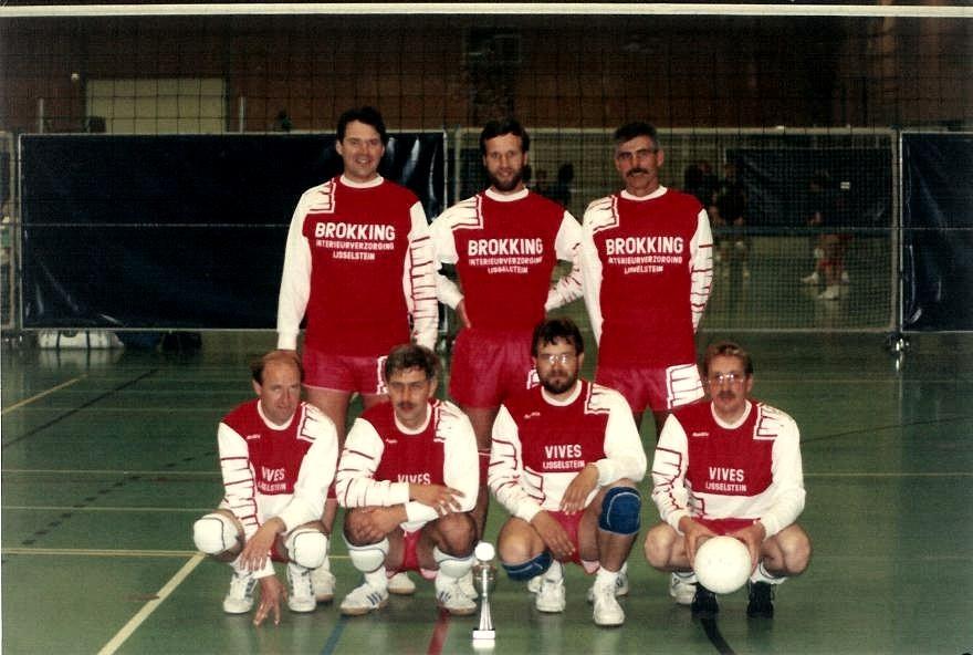 heren Vives recreatiekampioen 1990