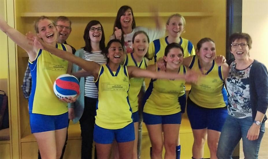 De Valk 4 kampioen dames B seizoen 2015-2916