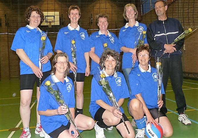 Fit  dames B poule 3e plaats seizoen 2011-2012