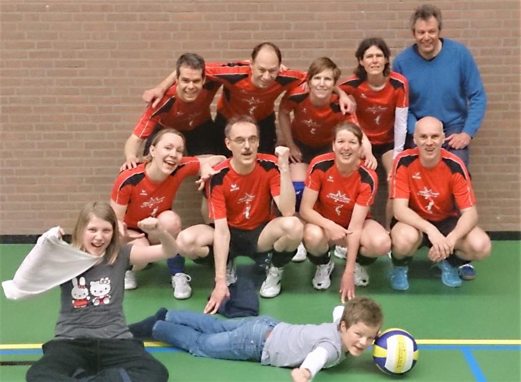 SV Lunetten1 2e mixed D seizoen 2012-2013