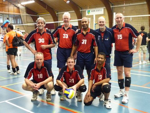 VC Nuevo 3 kampioen heren B poule seizoen 2011-2012