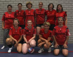 VC Houten 3e poule B seizoen 2012-2013
