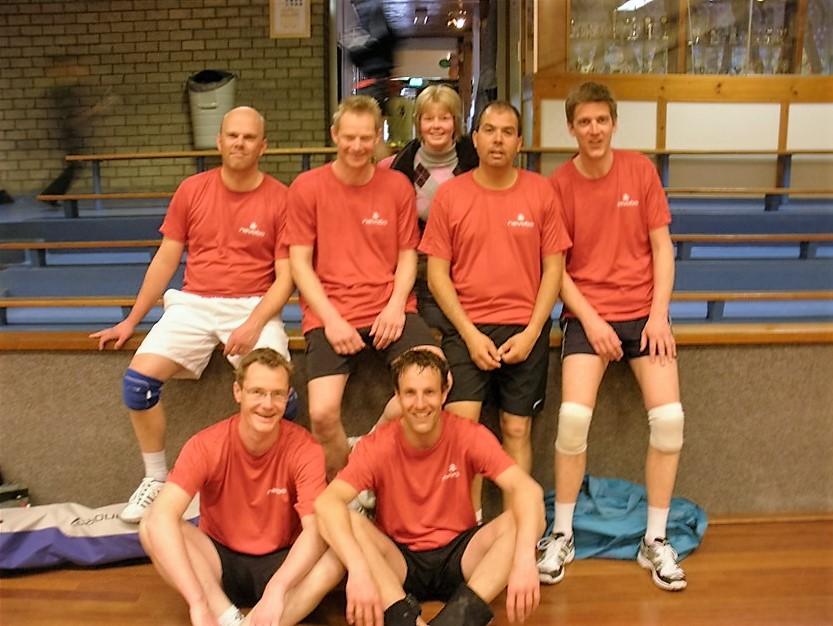 VTC Woerden 1 kampioen heren A seizoen 2010-2011
