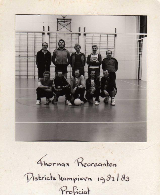Thornax heren A kampioen 1983