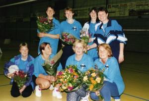 VTC Woerden 1 dames A kampioen 1999