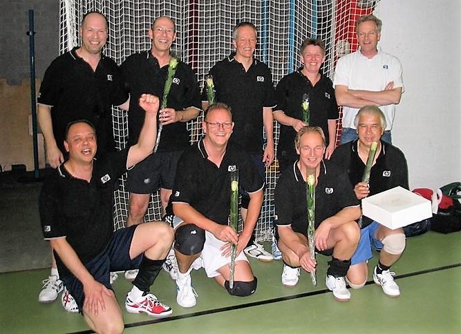 VOC Maarsen 1 kampioen heren C poule seizoen 2011-2012