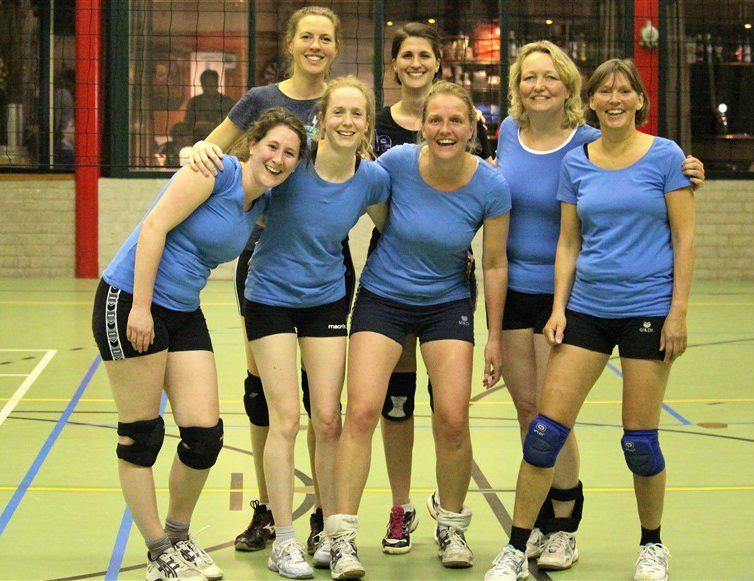 VV Utrecht 1 kampioen dames poule A seizoen 2015-2016