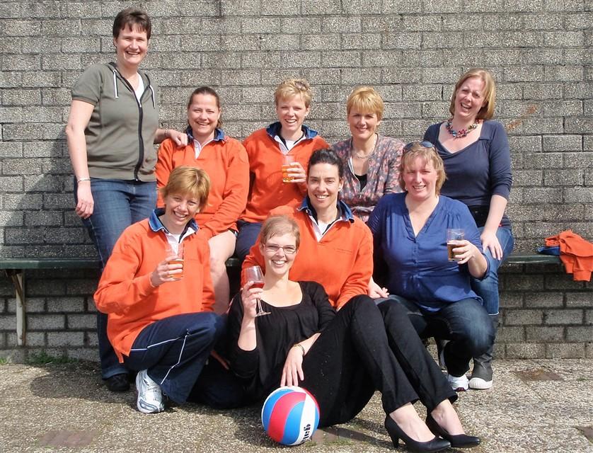 Vives 4 kampioen dames A seizoen 2010-2011